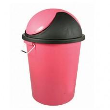 Plastic Dustbin with Swing Lid & Side handles 40L