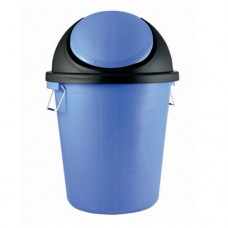 Plastic Dustbin with Swing Lid & Side handles 60L