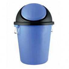 Plastic Dustbin with Swing Lid & Side handles 60L