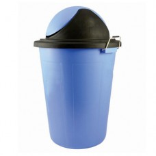 Plastic Dustbin with Swing Lid & Side handles 80L