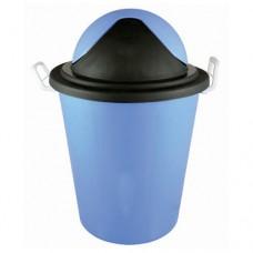 Plastic Dustbin with Swing Lid & Side handles 100L