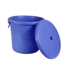 Plastic Storage Bin with side handles  25L