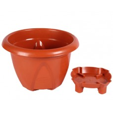 Planter with water storage base 10L